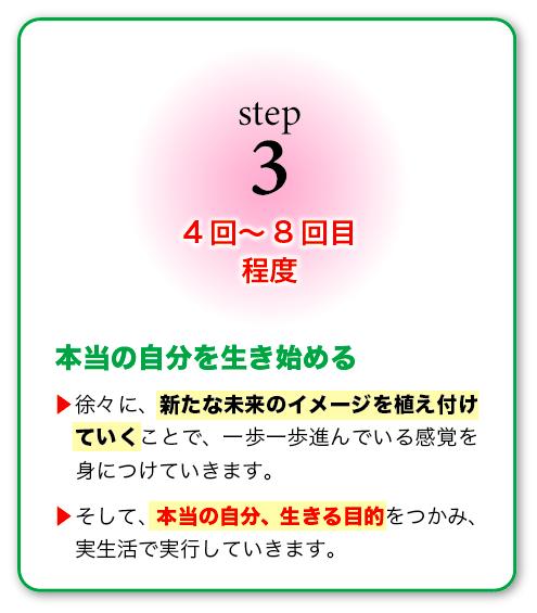 【STEP3】4回〜8回目程度